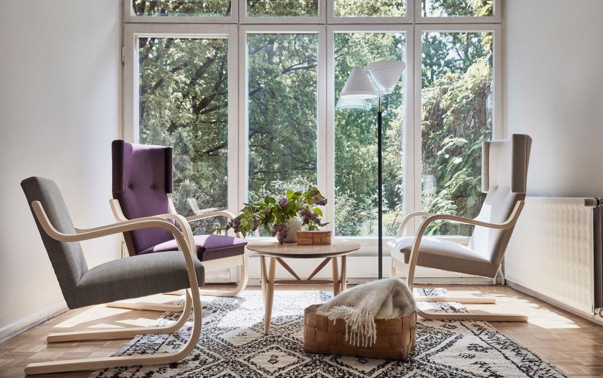 Armchair-401-402-Ovalette-Table-Floor-Light-A810