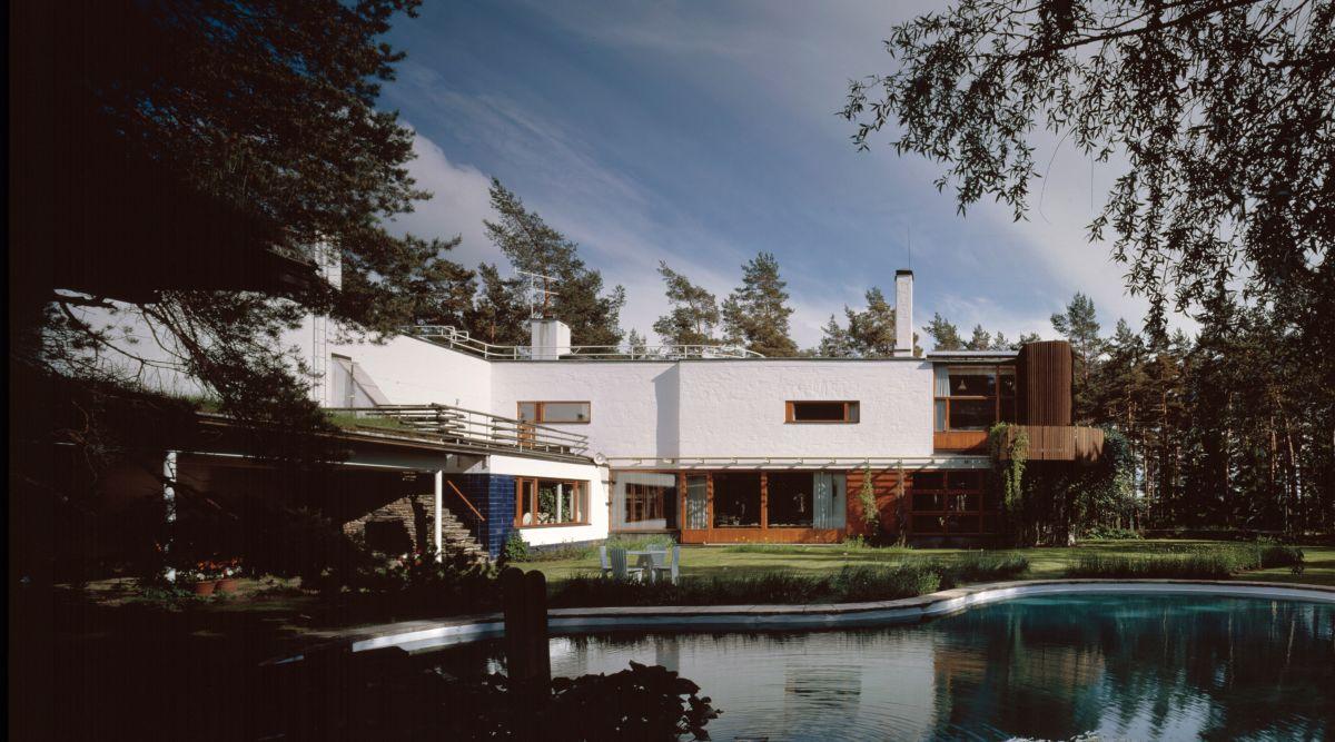 Villa Mairea dia colour photo