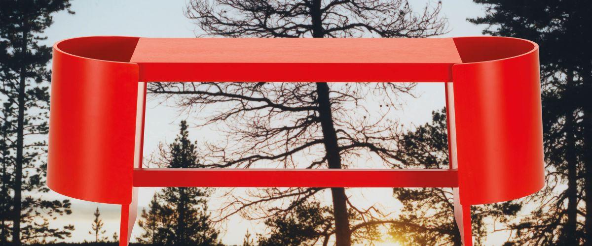 キウル ベンチ - 広大な自然にその身を委ねて