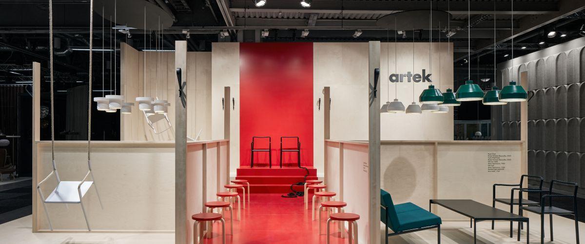 Artek at Stockholm Furniture Fair