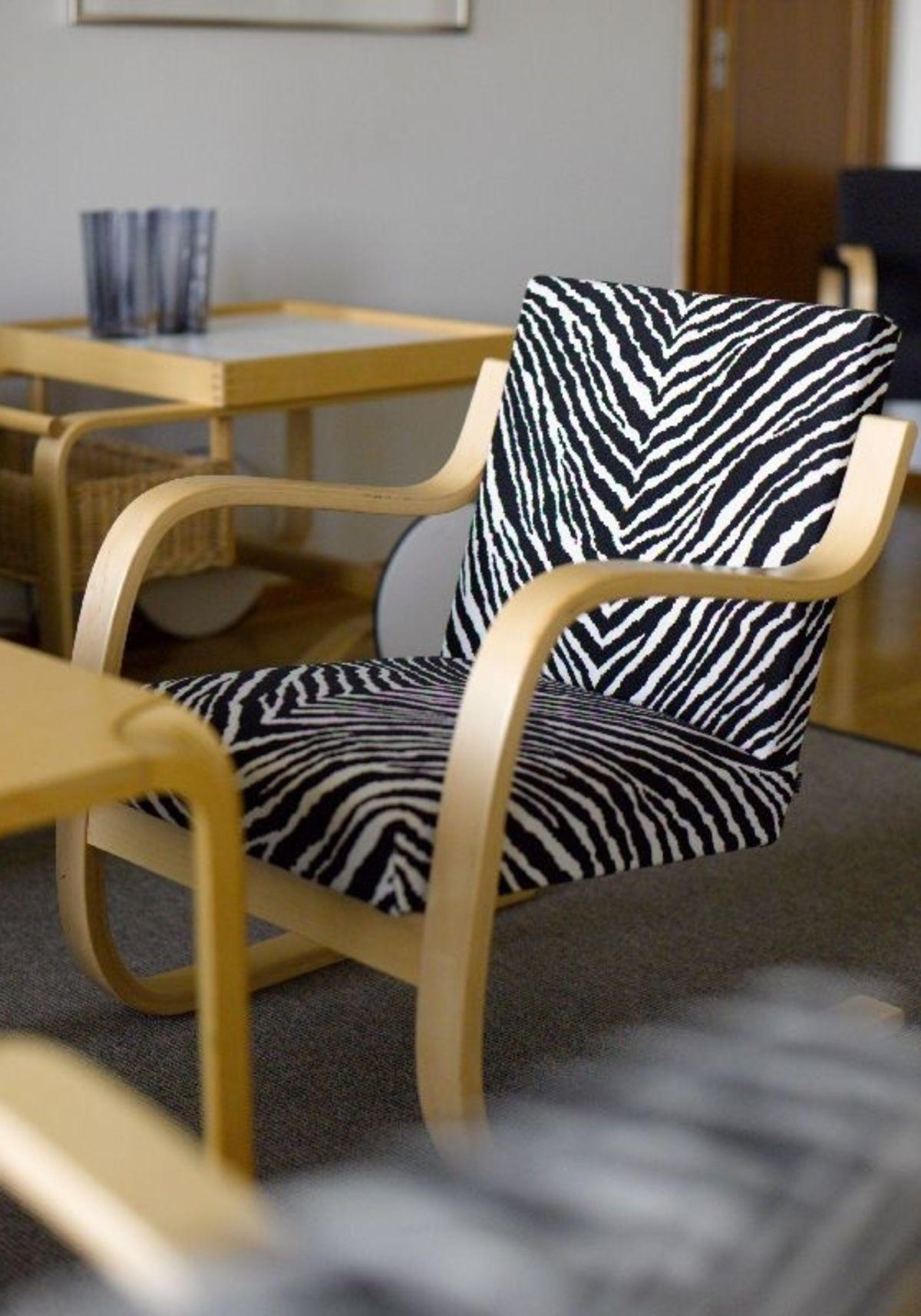 Armchair 402 Zebra Restaurant Savoy