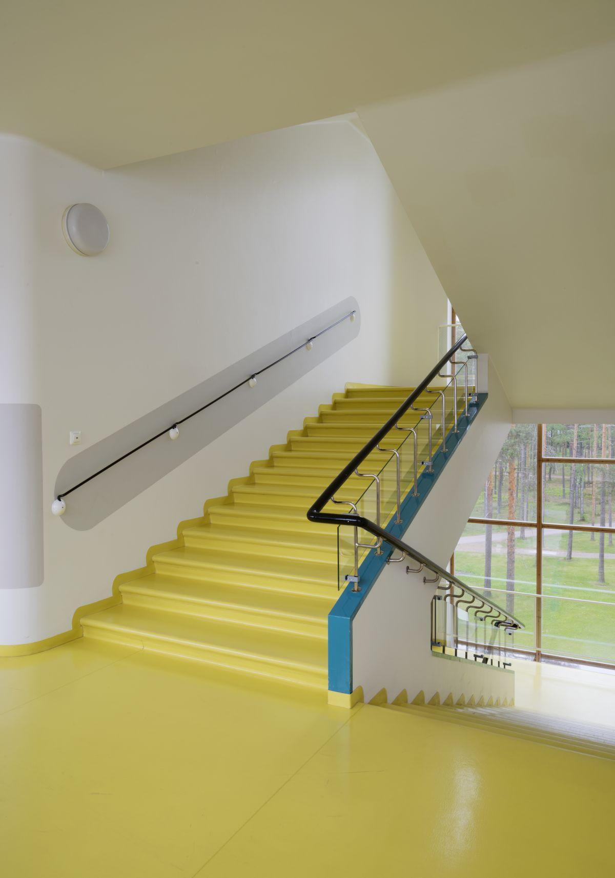 Paimio Sanatorium staircase