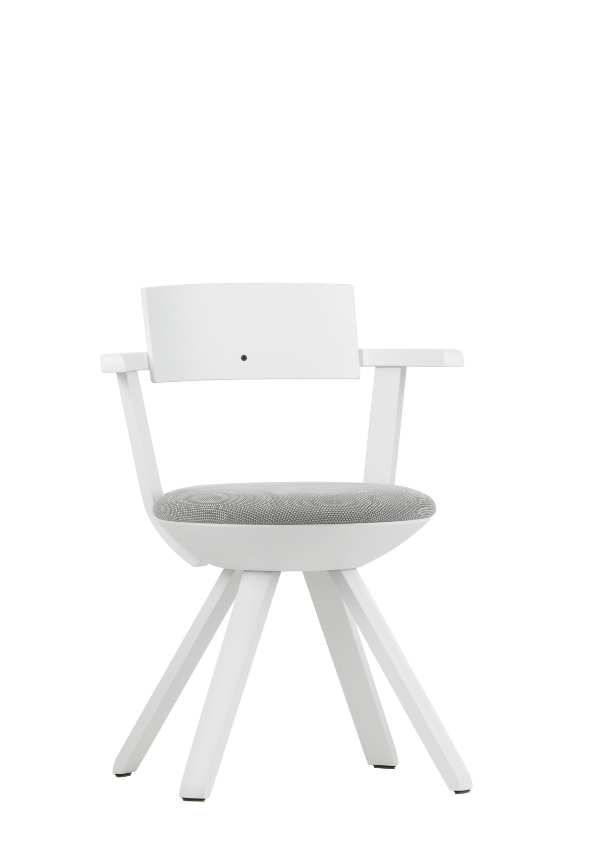 Rival-Chair-Kg002-White-Lacquer