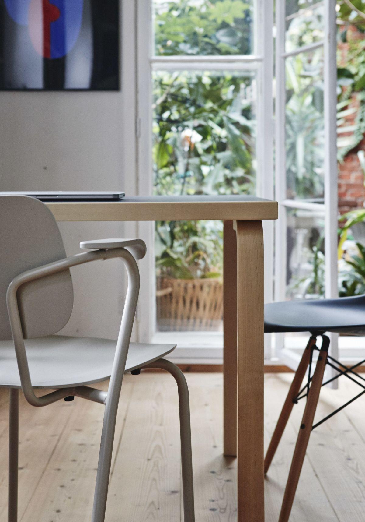 Lukki Chair Aalto Table rectangular 81B_3