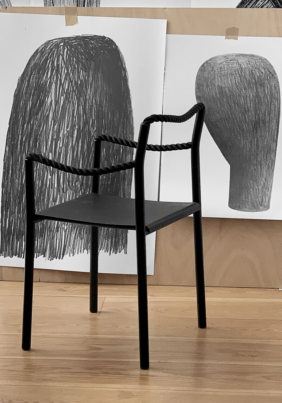 Rope chair Studio Bouroullec