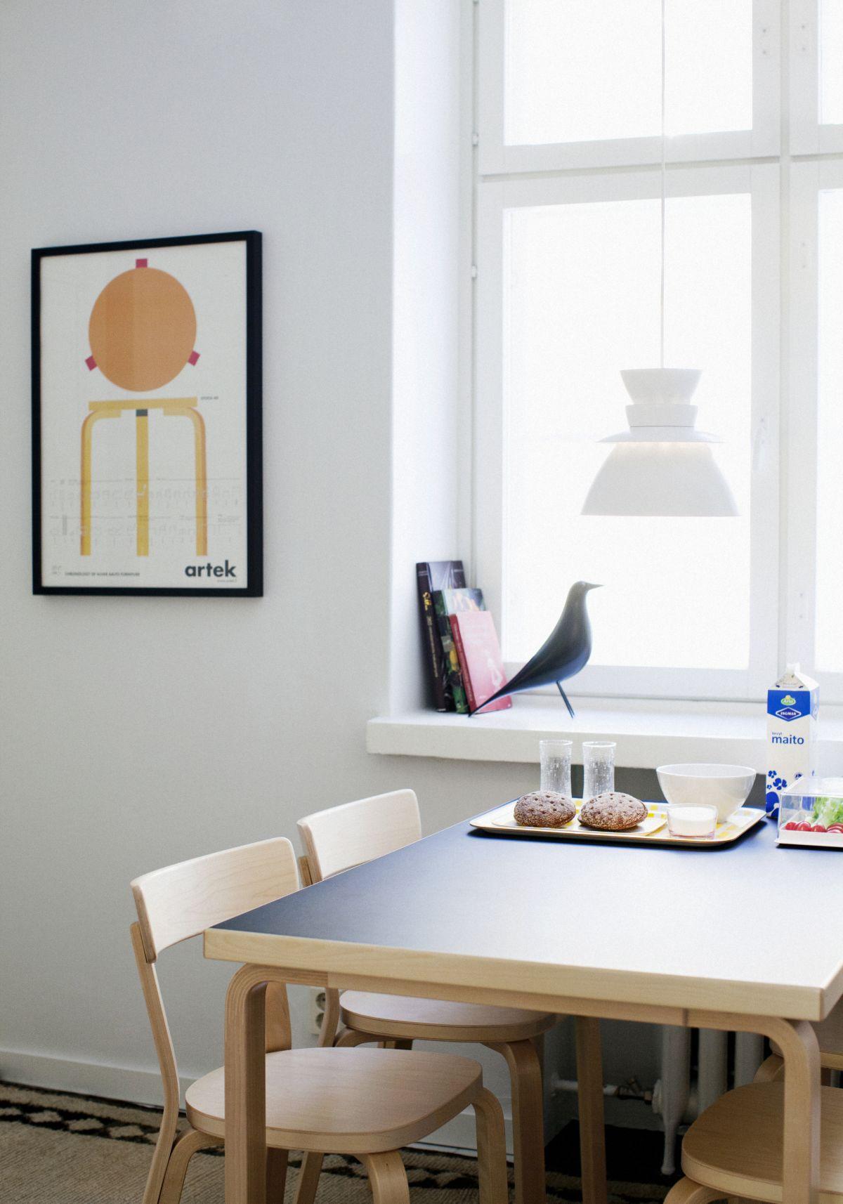 Chair 69 Aalto Table rectangular 81B Aalto Chronology Poster_2