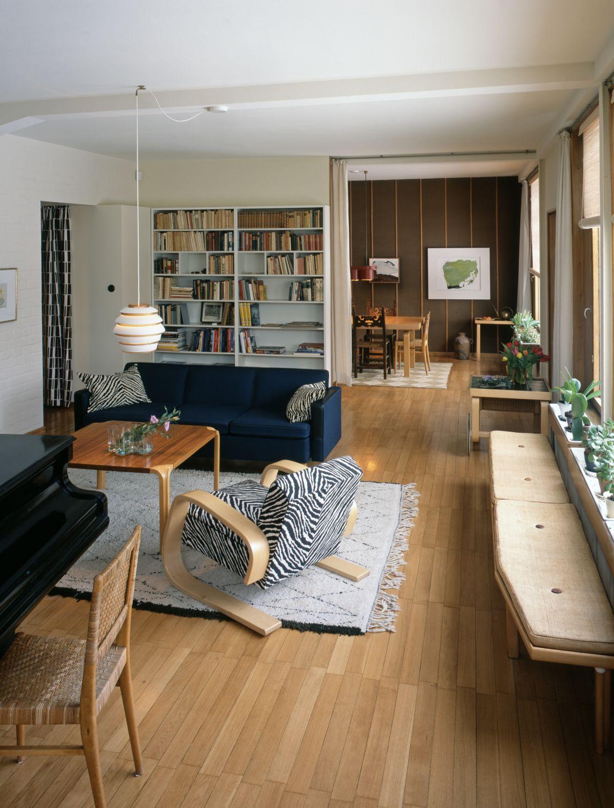 Aalto House living room