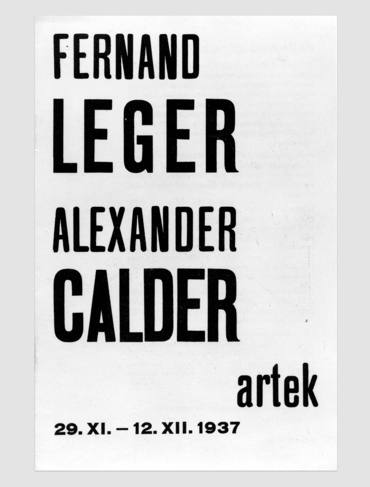 Artek-Poster-Fernand-Leger_Alexander-Calder