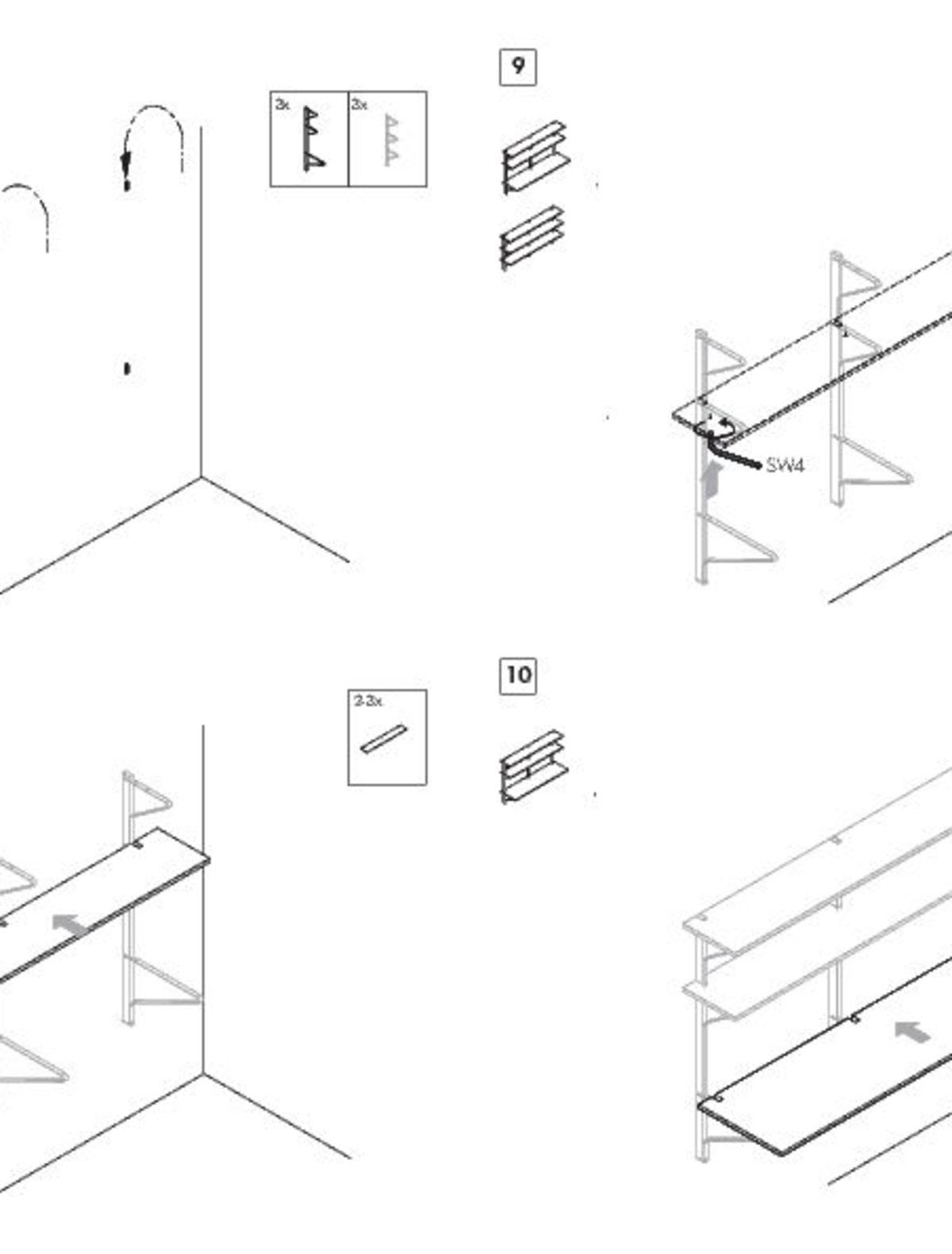 Kaari Wall Shelf 008-010