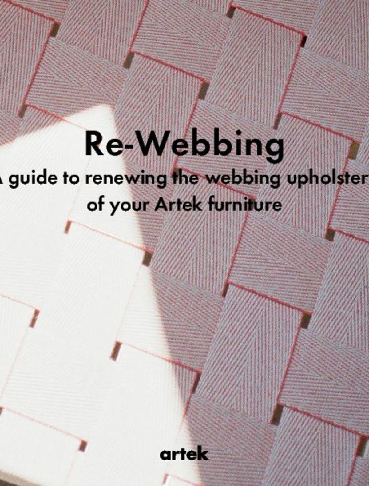Artek Re-Webbing Guide