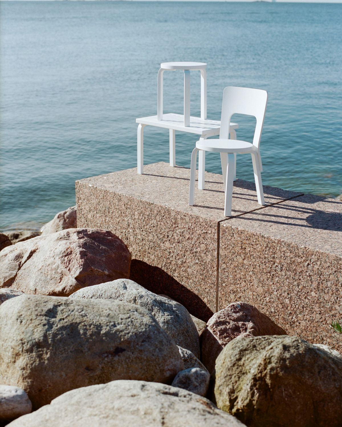 Bench-153B-Stool-60-Chair-66-White-Lacquer_1