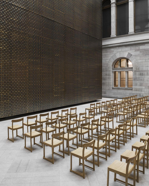 Artek Atelier Chair Nationalmuseum 4 Photo Erik Lefvander