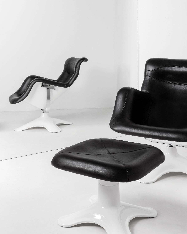 Karuselli-Lounge-Chair-Ottoman-Black-Leather