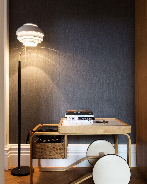 Floor Light A808 white Tea Trolley 900_1
