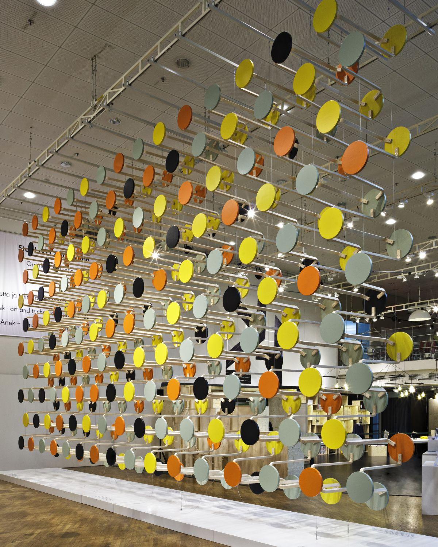 Artek_installation_Stool_60_Composition_by_Gronlund_Nisunen_photo_Rauno_Traskelin