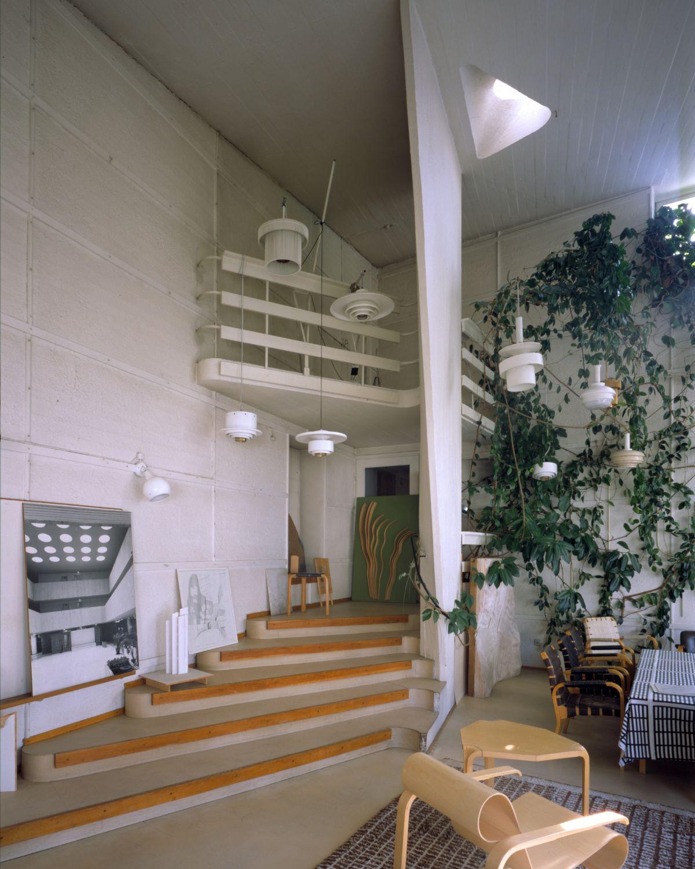 Aalto Studio lighting corner