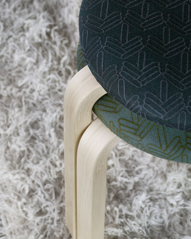 Stool 60 upholstered