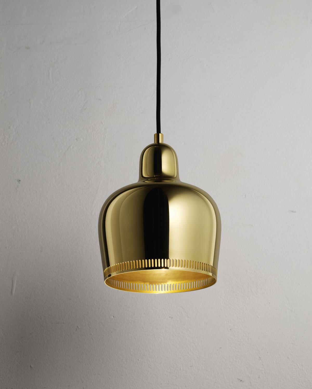 """Pendant Light A330S """"Golden Bell"""" Savoy_2_off"""