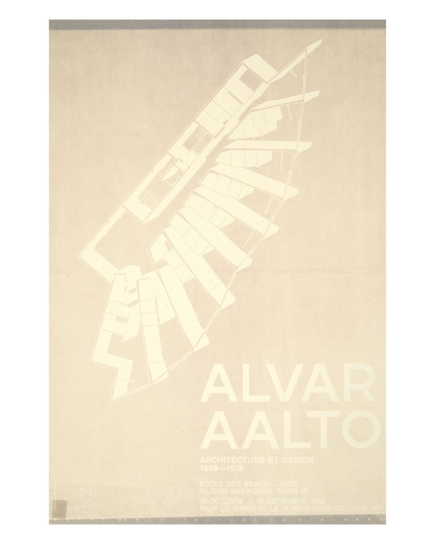 Aalto-poster-ecole-des-beaux-arts-white