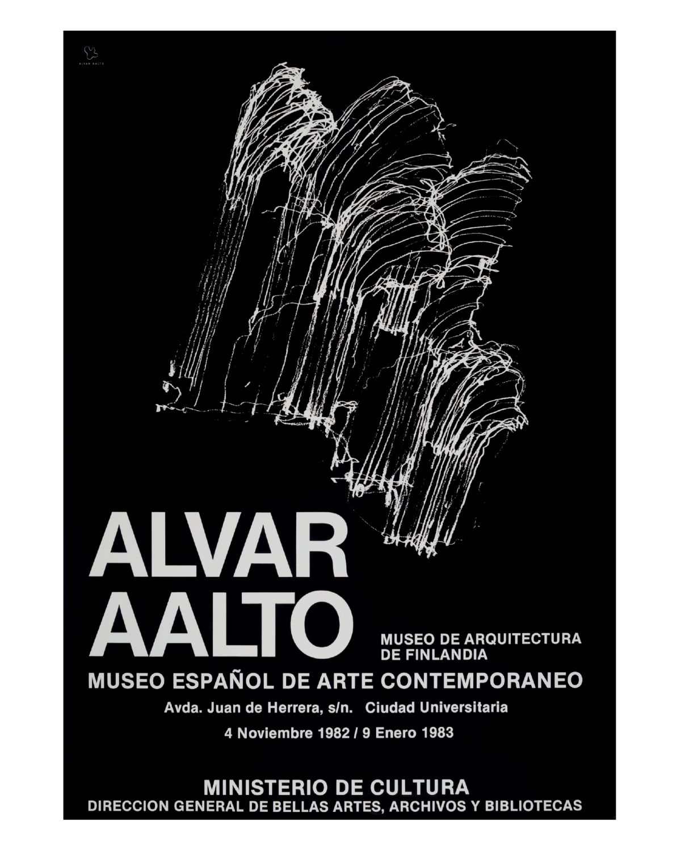 Aalto-poster-museo-espanol-de-arte-contemporaneo