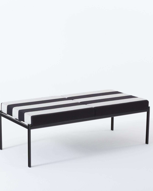 Kiki Bench 2 seater Kvadrat/Raf Simons upholstery
