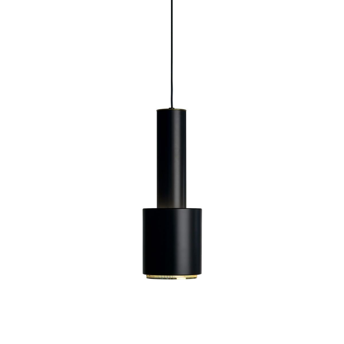 Pendant Light A110 _Hand Grenade__black_brass ring_long_WEB