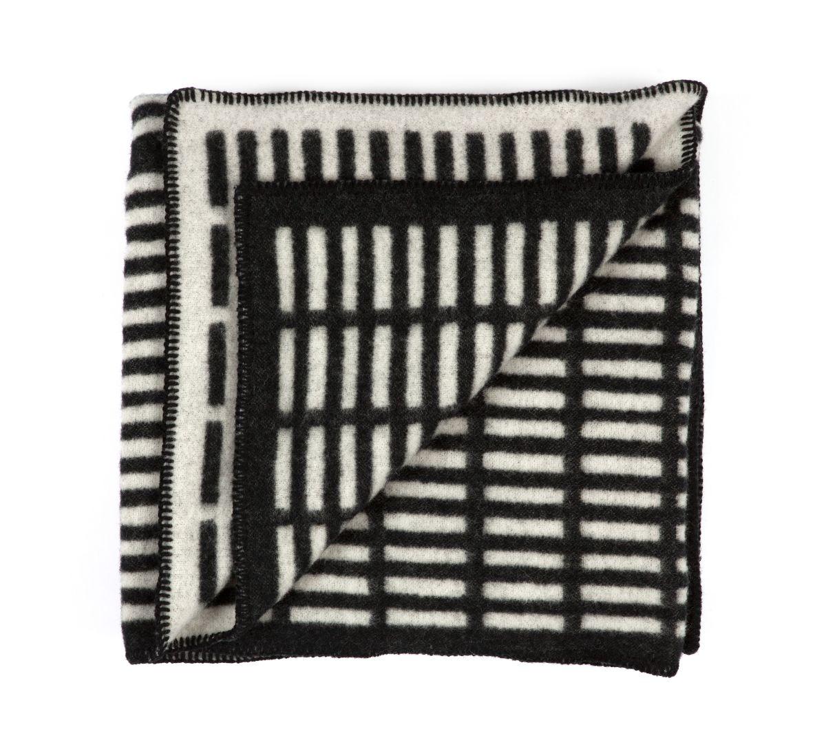 Siena-Blanket-White-Black