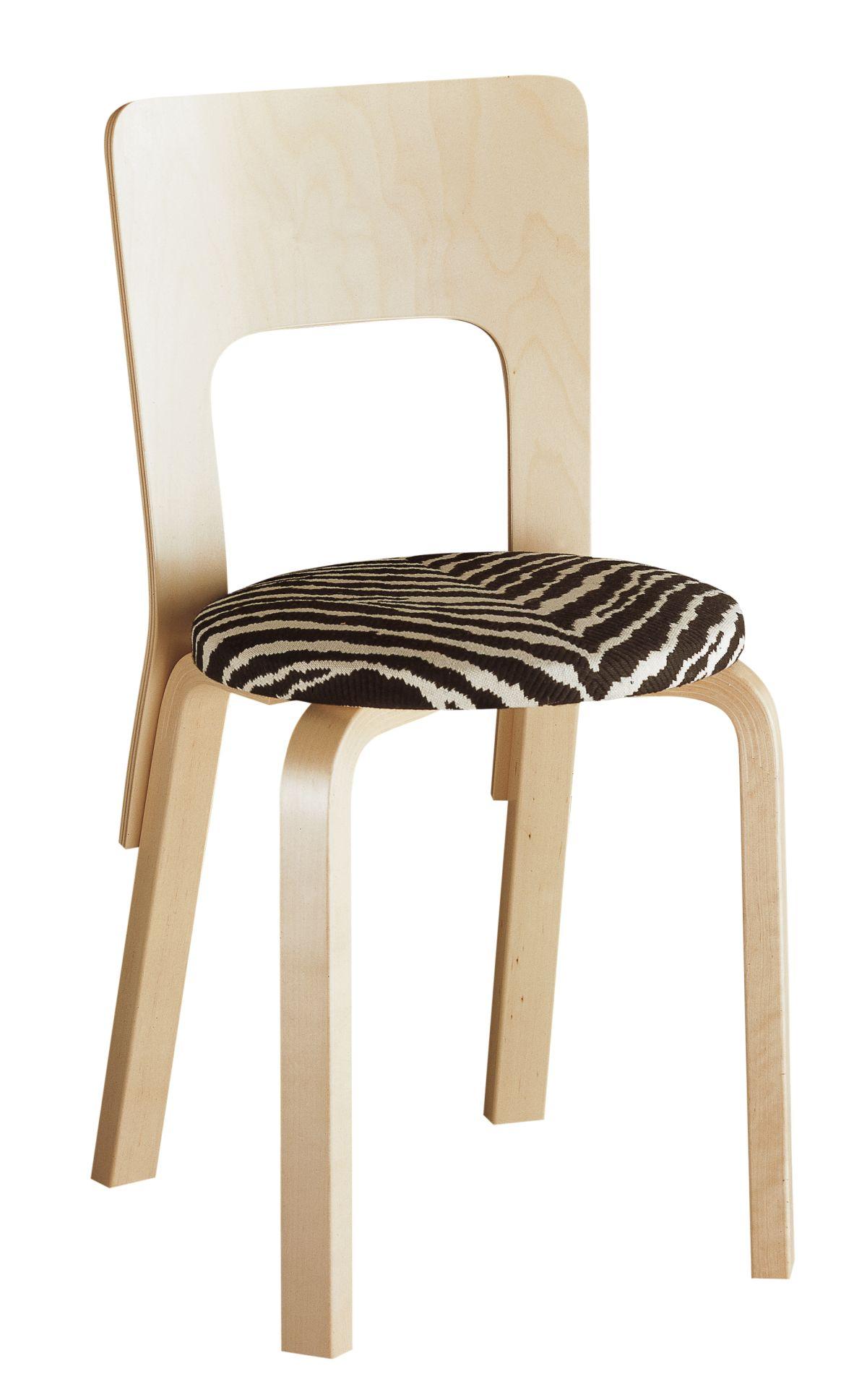 Chair 66 upholstered Zebra