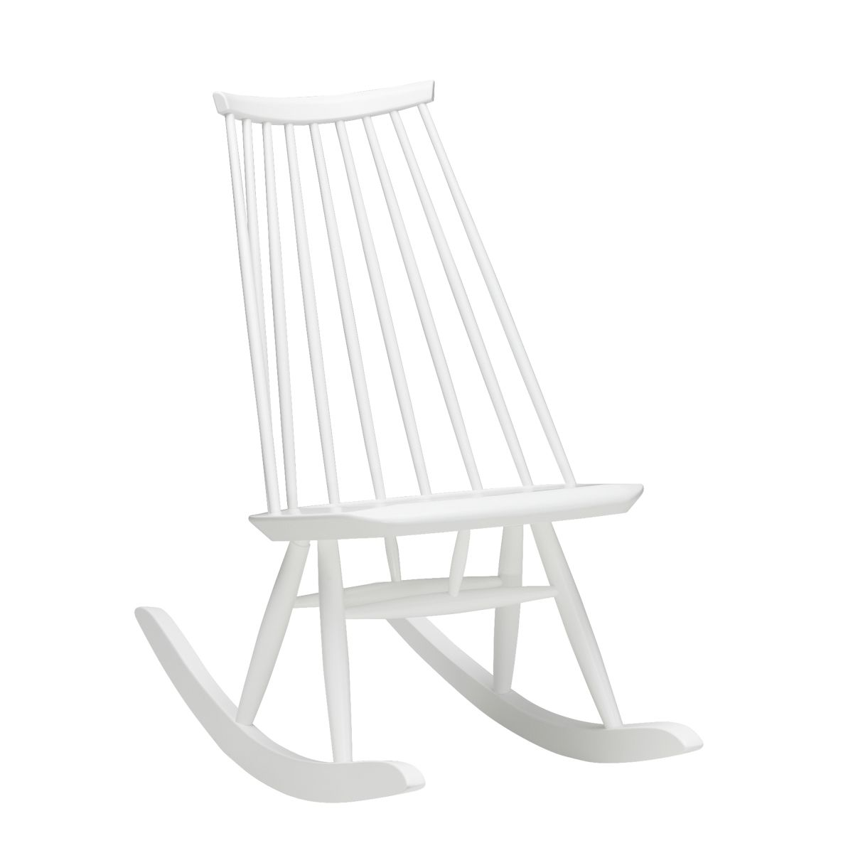 Mademoiselle Rocking Chair white lacquer_WEB
