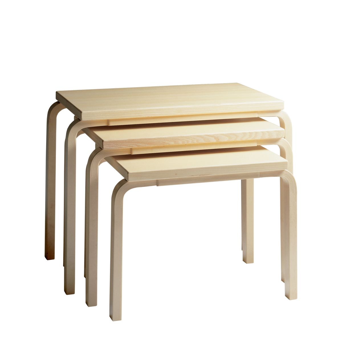 Nesting table 88 birch