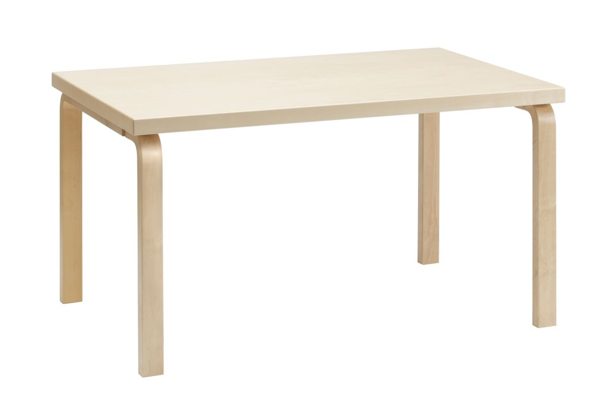 Aalto Table 82B clear lacquer