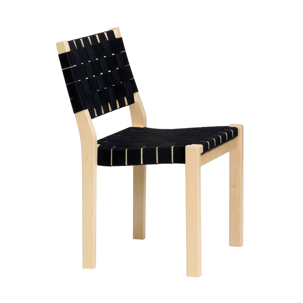 Chair 611 black webbing