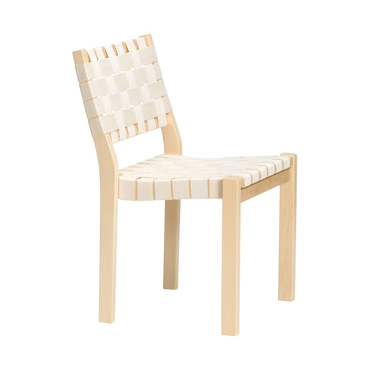 Chair 611 white webbing