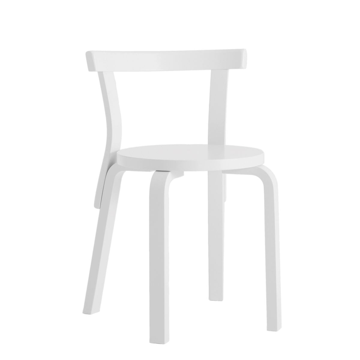 Chair 68 white lacquer