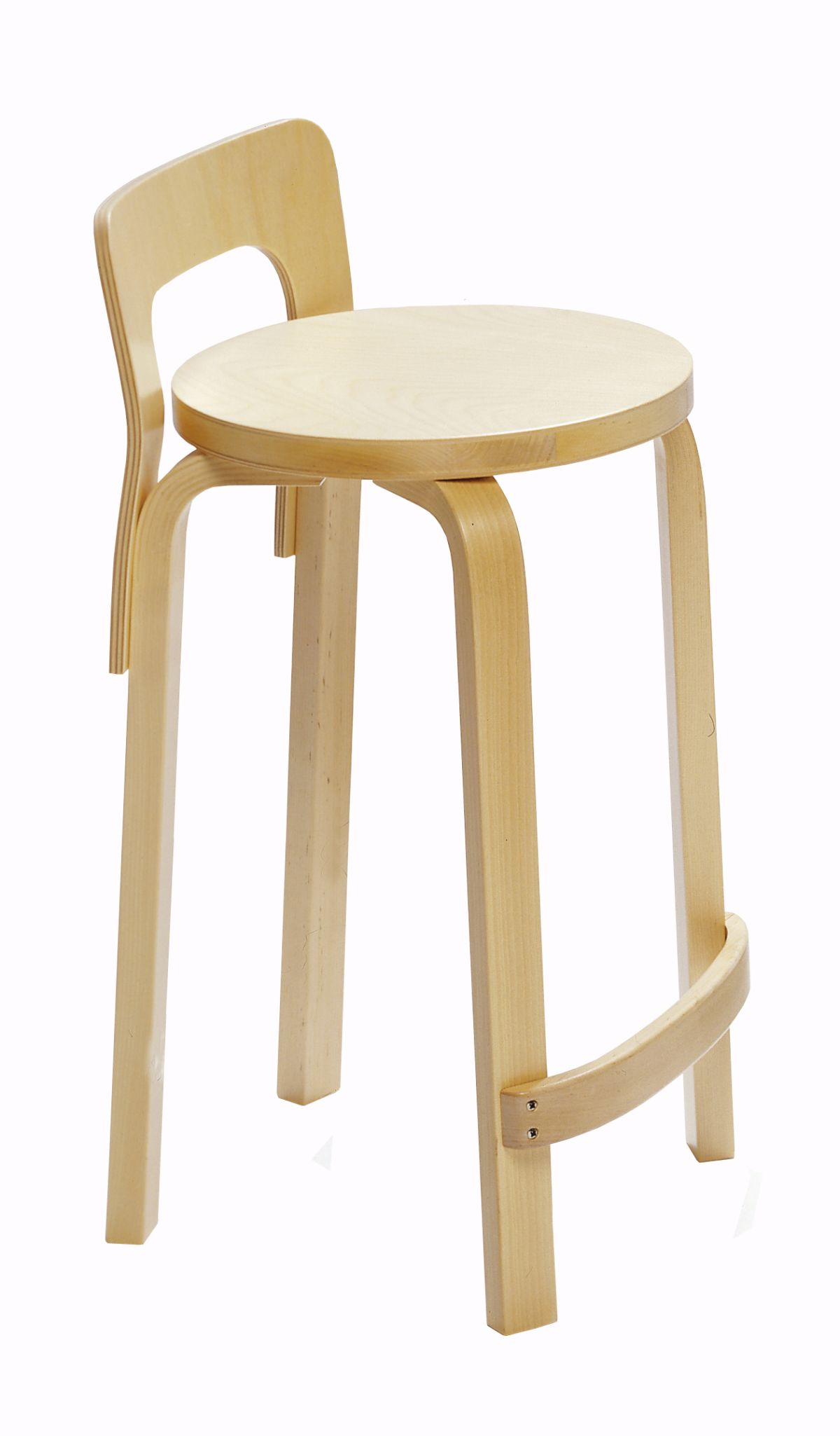 High Chair K65 clear lacquer