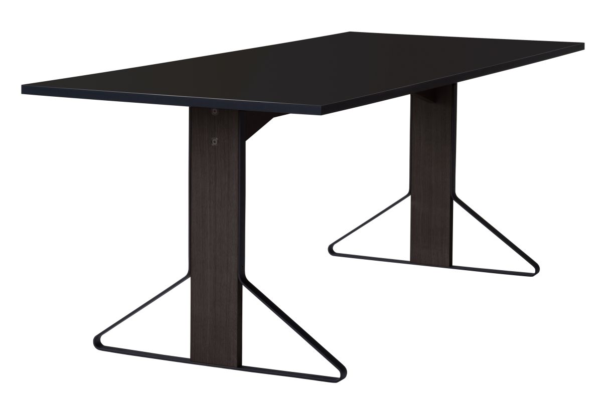 Kaari Table rectangular REB001 black oak black HPL