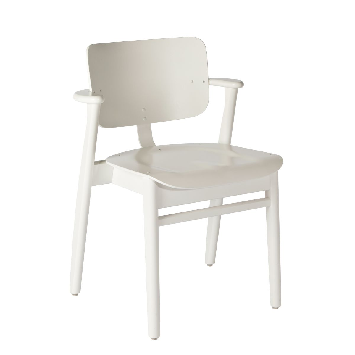 Domus Chair white lacquer