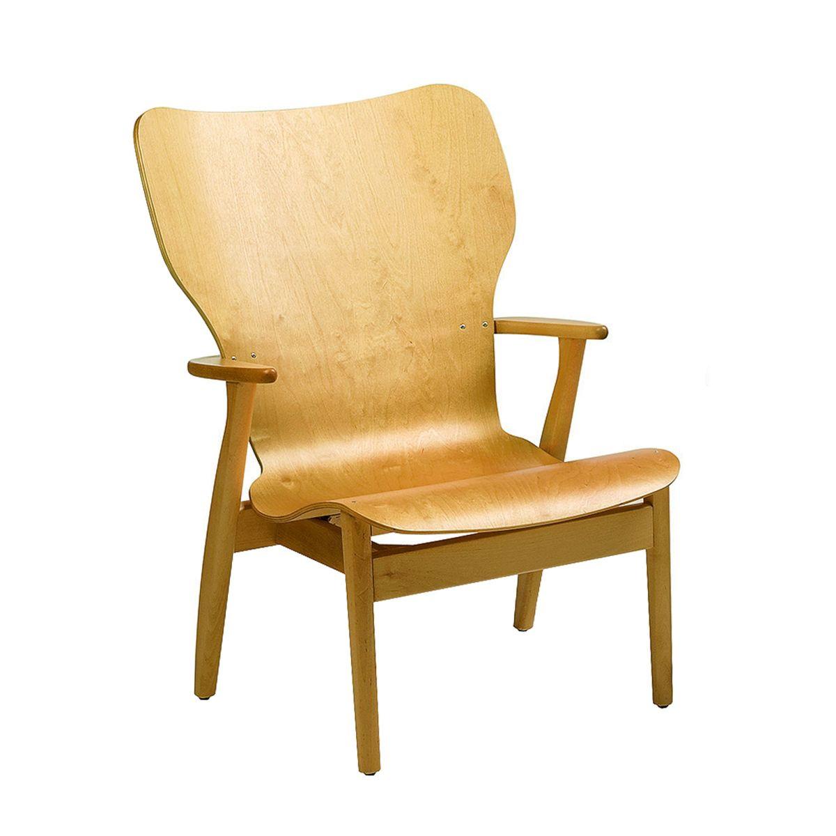 Domus Lounge Chair birch