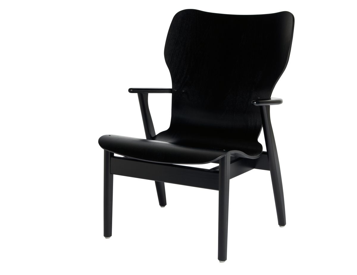 Domus Lounge Chair black