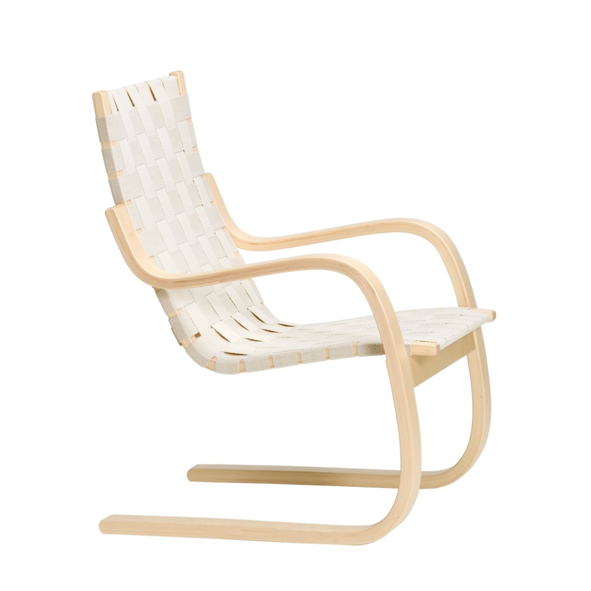 Armchair 406 natural webbing