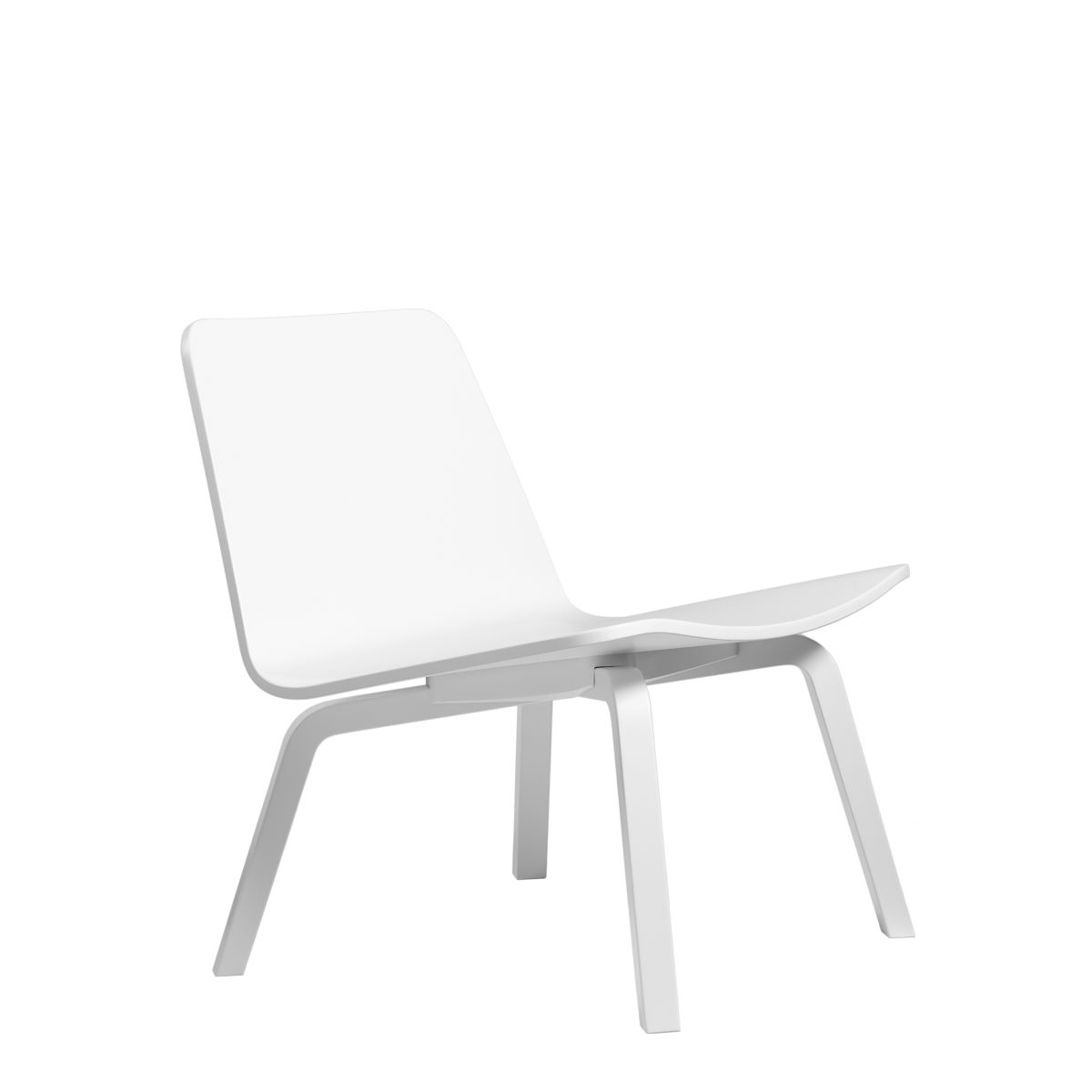 Lounge-Chair-Hk002-White-Lacquer