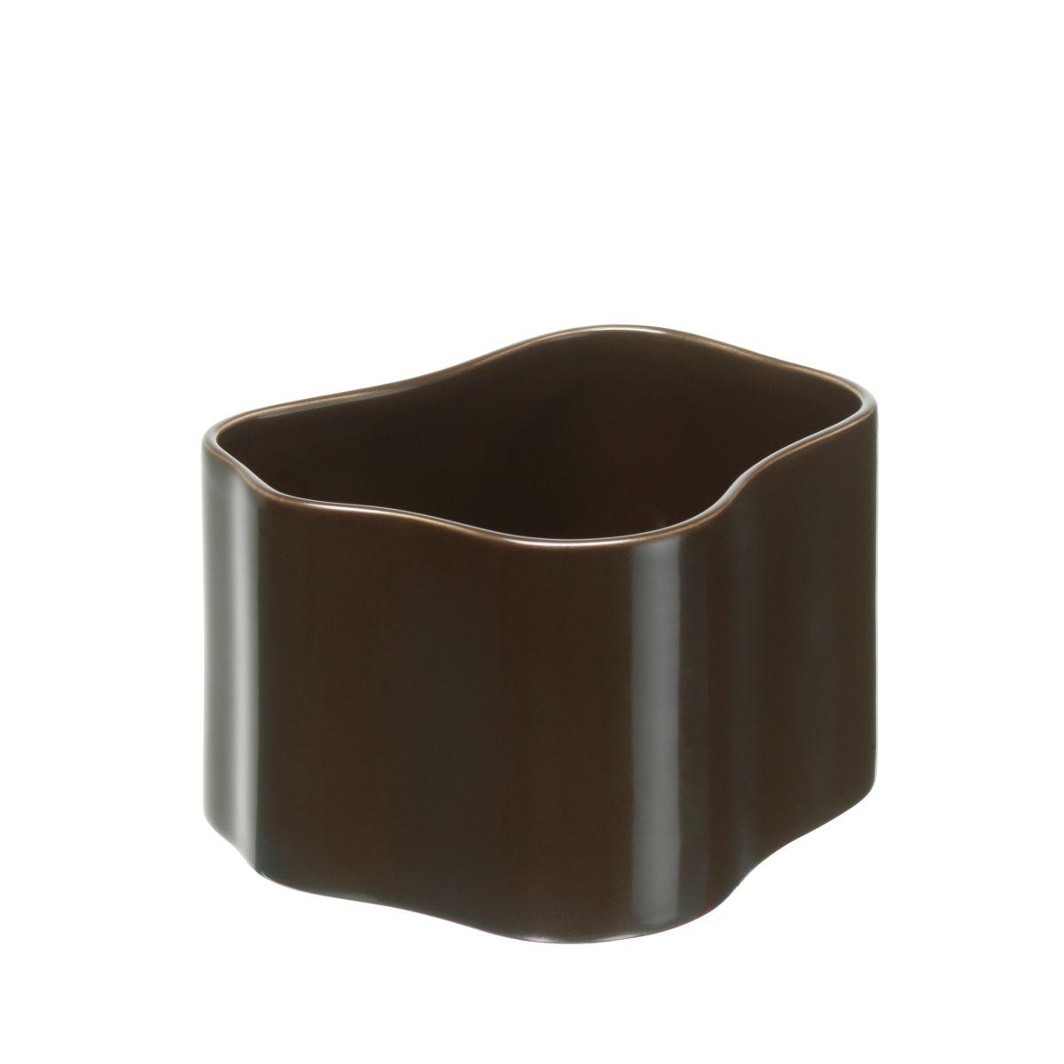 Plant-Pot-Shape-B-Size-S-Dark-Brown-Gloss_F-1958481