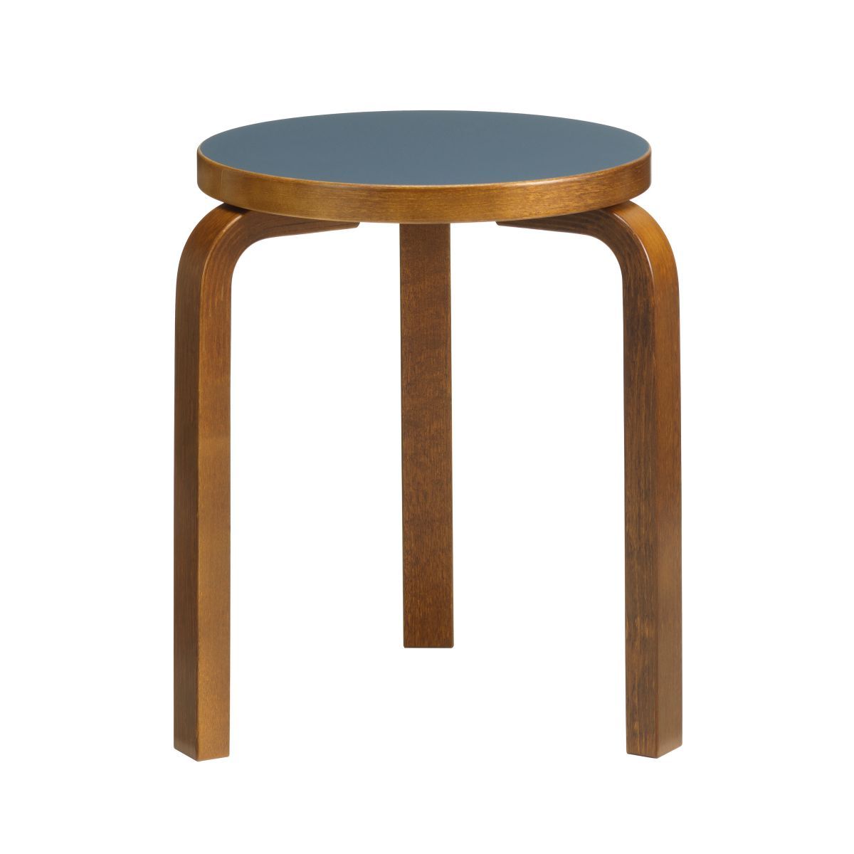 Stool_60_walnut_stain_blue_linoleum_F