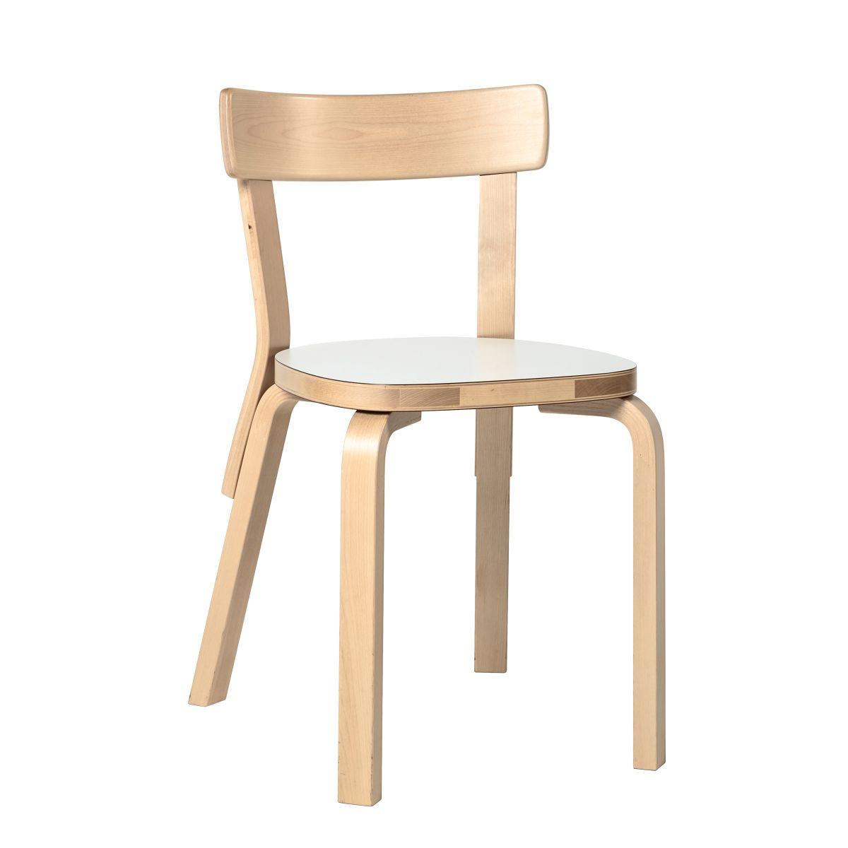 Chair 69 white laminate