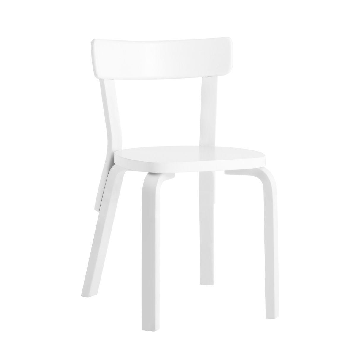 Chair 69 white lacquer