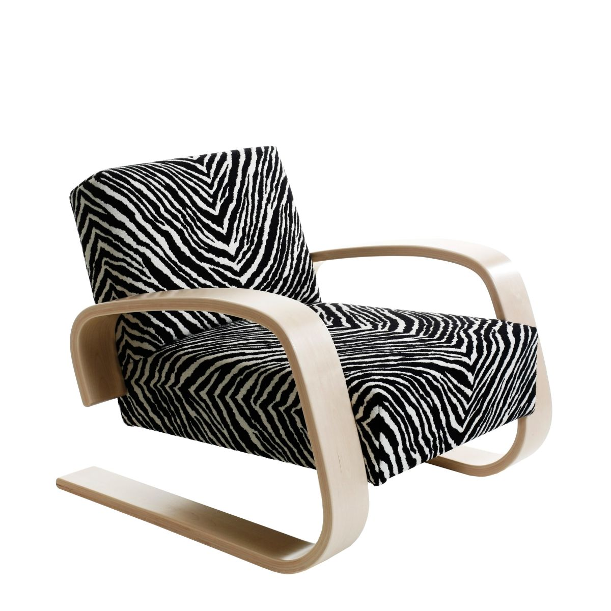 Armchair 400 _Tank_ clear lacquer zebra_WEB