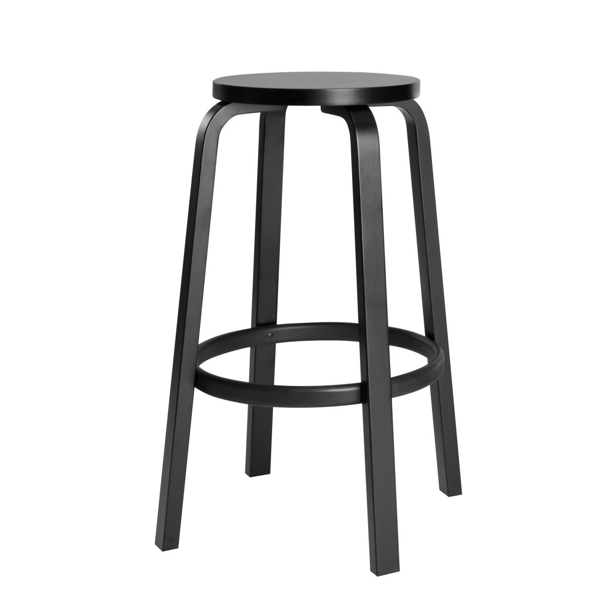 black stools nest bar stool product at masters the uk buy kartell co