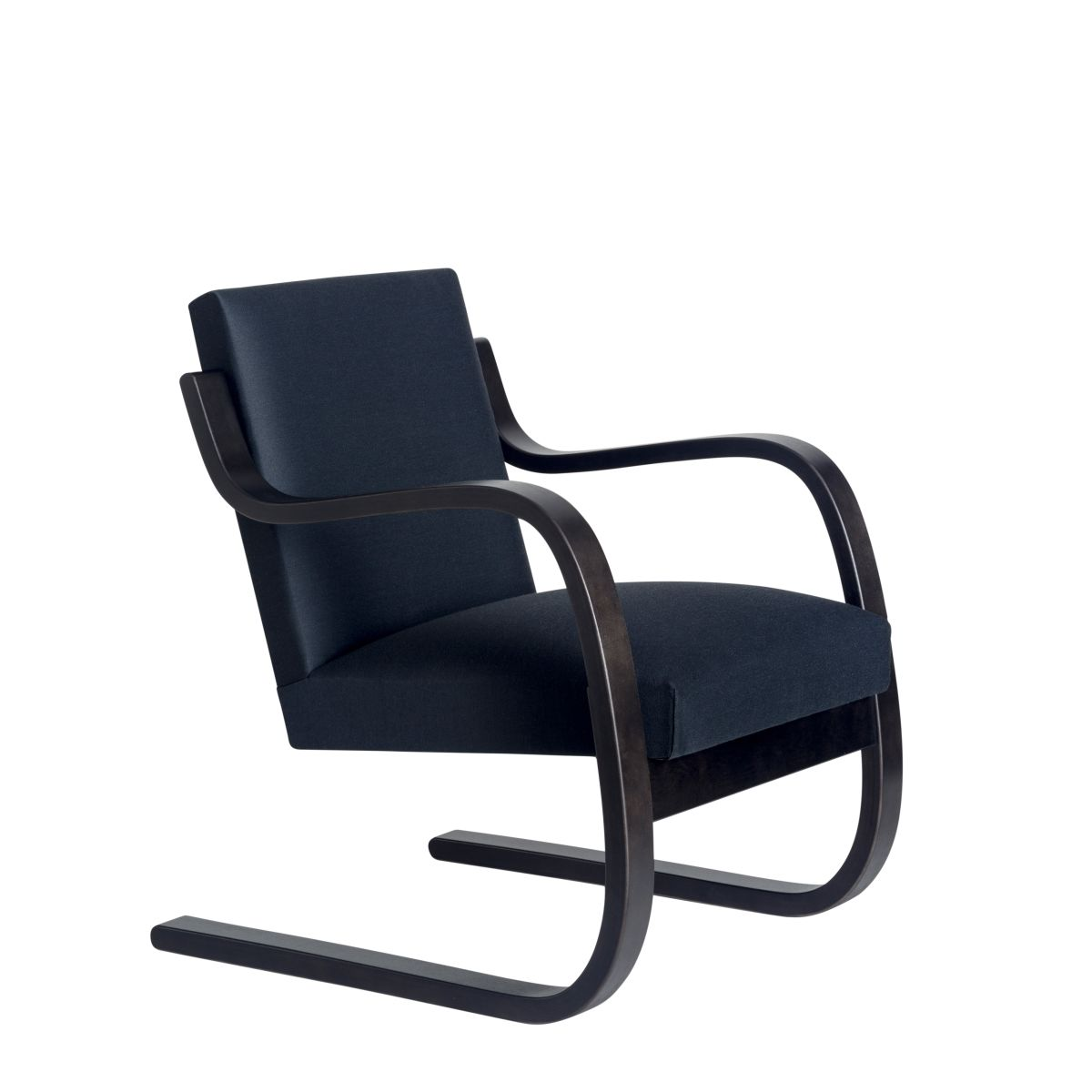 Armchair 402 HJ charcoal stain