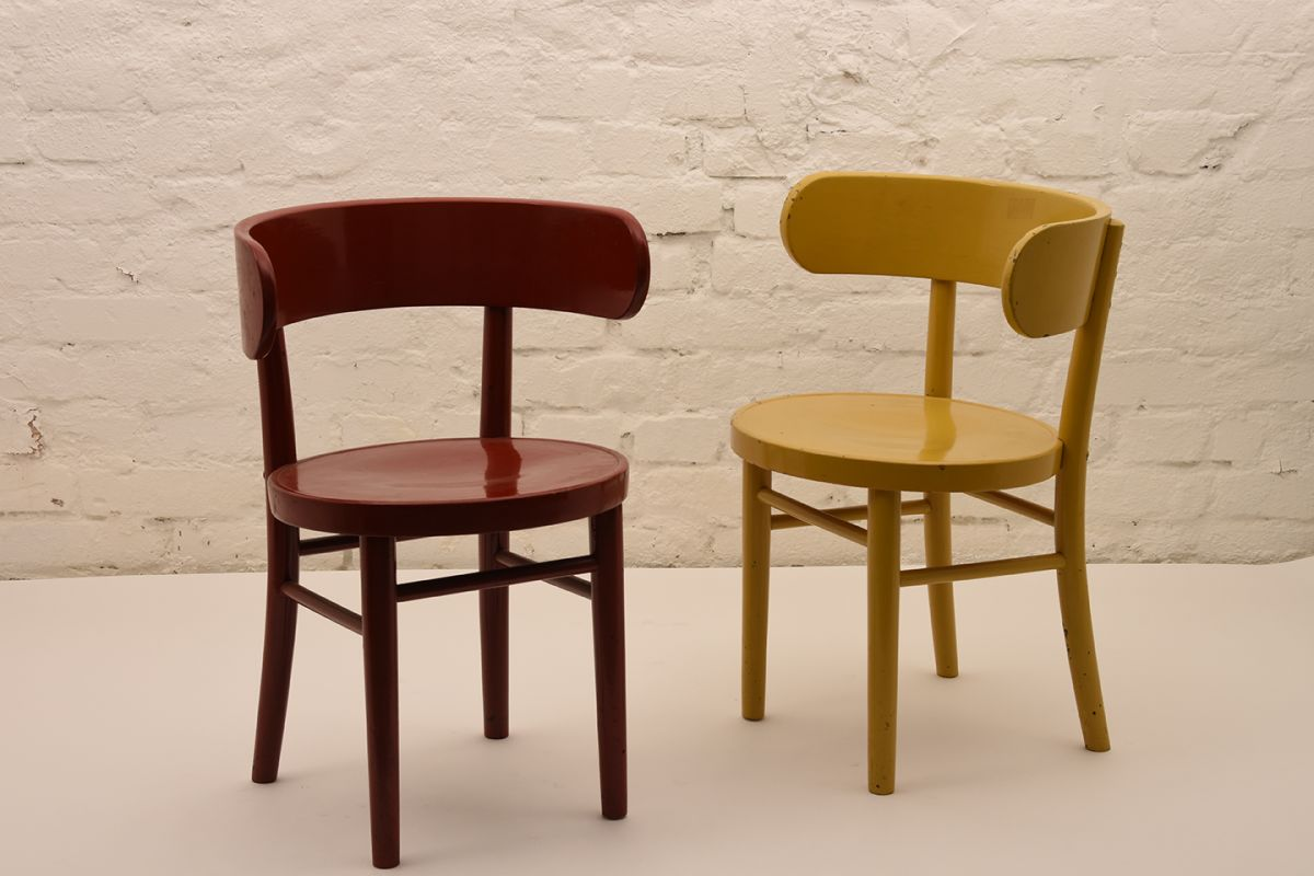 Werner-West_Side-Chair-Red-Yellow