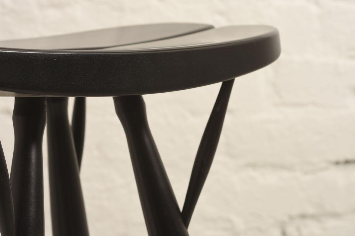 Ilmari Tapiovaara Pirkka ´ Bar Stool Black Detail 04
